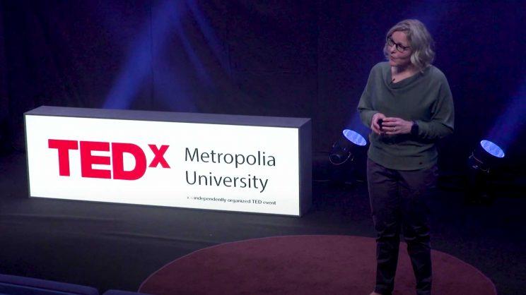Salla Sipari Metropolia TEDx-lavalla.